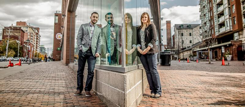 Manny & Francesca's Engagement | Distillery District Toronto